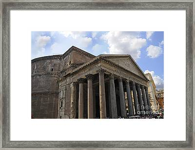 The Glory That Is Rome Framed Print