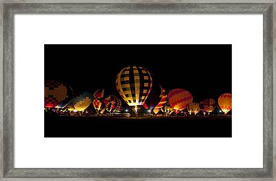 The Glow Framed Print by Danny Pickens