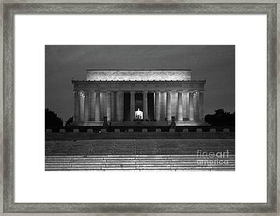 The Glow Of Leadership Framed Print