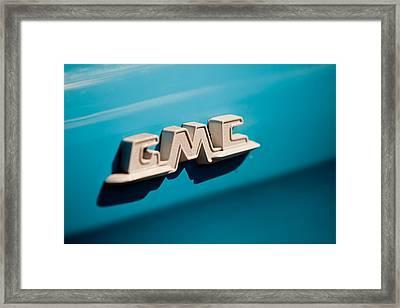 The Gmc Framed Print