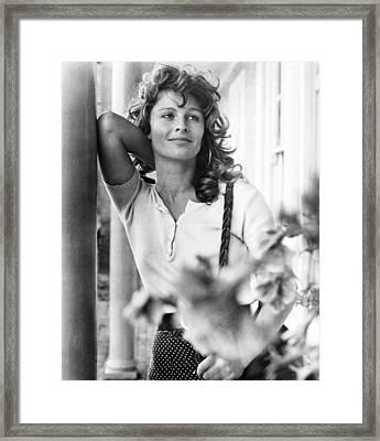 The Go-between, Julie Christie, On-set Framed Print by Everett
