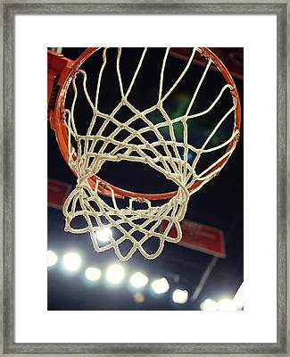 The Goal Framed Print by Replay Photos