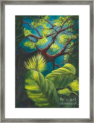 The Goblin Market Restaurant Tree Mt. Dora Framed Print