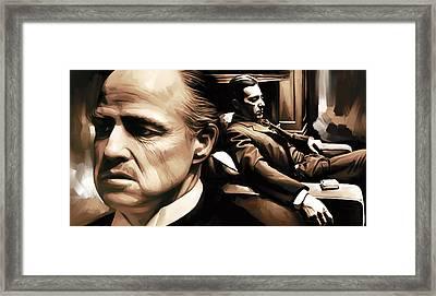 The Godfather Artwork Framed Print