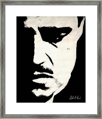 The Godfather Framed Print by Dale Loos Jr