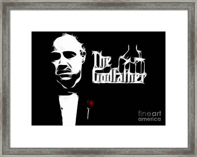 The Godfather Framed Print by Doc Braham