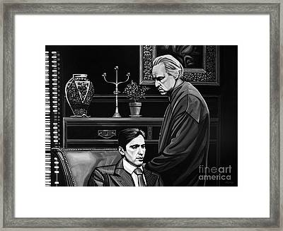 The Godfather  Framed Print by Paul Meijering