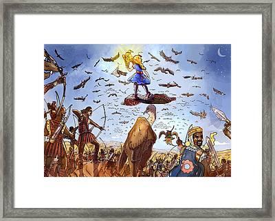 The Golden Bird Framed Print by Reynold Jay