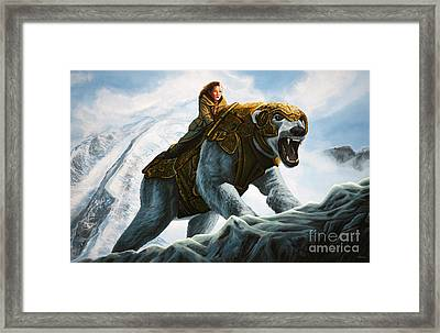The Golden Compass  Framed Print by Paul Meijering