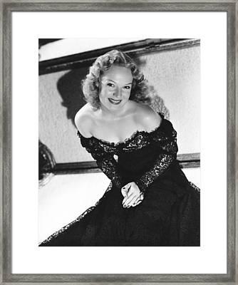 The Golden Fleecing, Rita Johnson, 1940 Framed Print by Everett