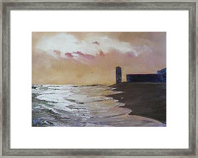 The Golden Hour Framed Print by Valerie Curtiss