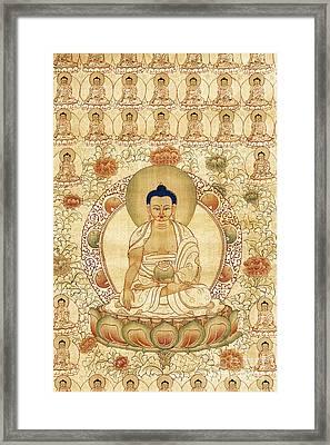 The Golden One  Framed Print