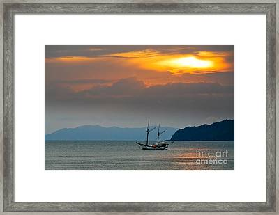 The Golden Touch Framed Print by Syed Aqueel