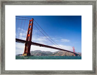 The Golden Towers Framed Print