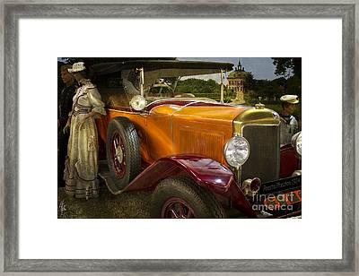 The Golden Twenties Framed Print by Heiko Koehrer-Wagner