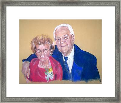 The Golden Years Framed Print by Martha Suhocke