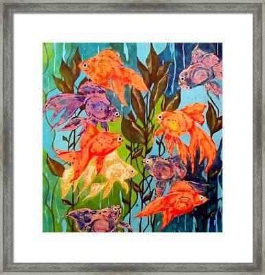 The Goldfish Pond Framed Print by David Raderstorf