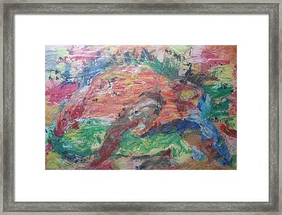 The Golem Comes To Life Framed Print
