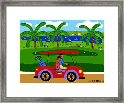 The Golfers Framed Print
