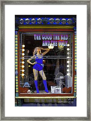 The Good Bad And Ugly Framed Print by Bruce Bain