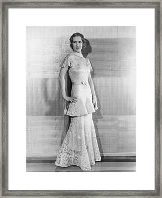 The Good Bad Girl, Mae Clarke, In An Framed Print