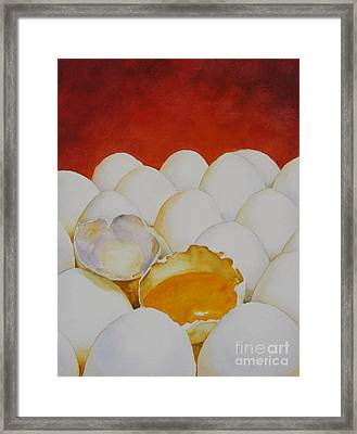 The Good Egg Framed Print