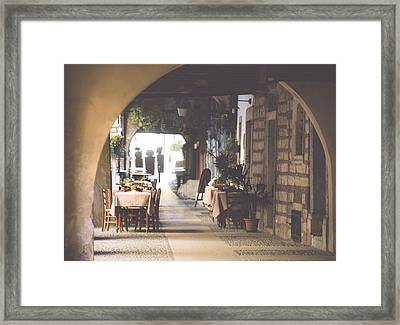 The Good Life.. Framed Print