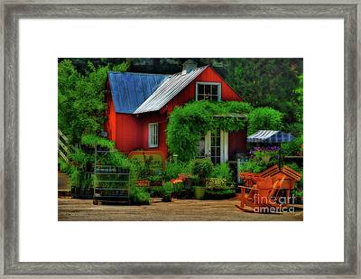 The Good Life Framed Print by Lois Bryan