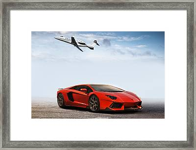 The Good Life Framed Print by Peter Chilelli