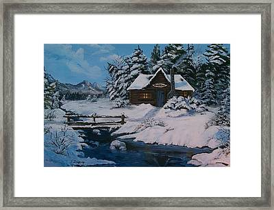 The Good Life Framed Print by Sharon Duguay