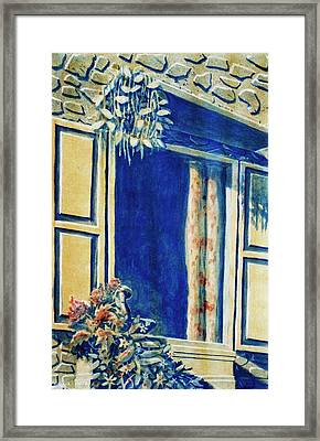 The Good Morning Window Framed Print by Adhijit Bhakta