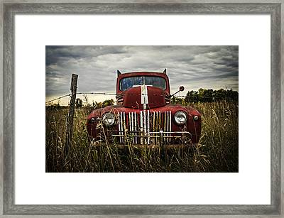 The Good Old Days Framed Print