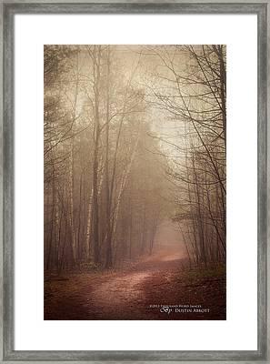 The Good Path Framed Print by Dustin Abbott
