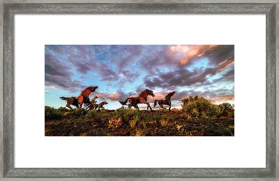 The Good Run Framed Print