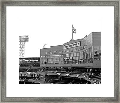 The Good Seats Framed Print by Barbara McDevitt