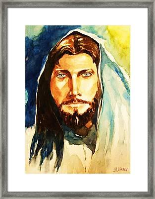 The Good Shepherd Framed Print by Al Brown