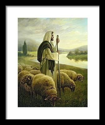 Shepherd Framed Prints