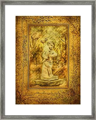 The Good Shepherd Framed Print by Gynt