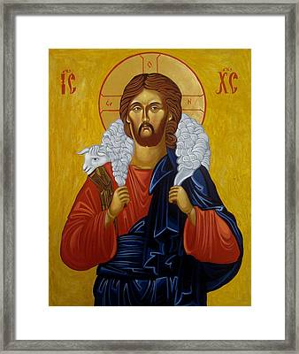 The Good Shepherd Framed Print by Joseph Malham