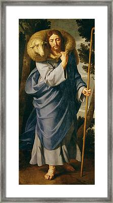The Good Shepherd  Framed Print by Philippe de Champaigne