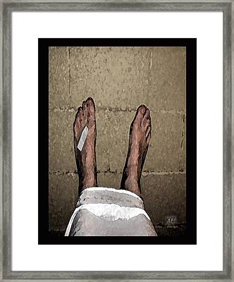 The Good Side Framed Print by Kelly McManus