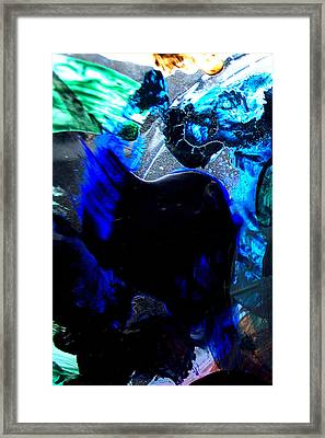 Framed Print featuring the digital art The Good With The Bad by Christine Ricker Brandt