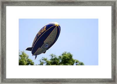 The Goodyear Blimp N3a Framed Print