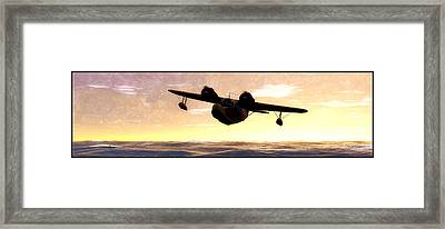 The Goose Framed Print by Tim Fillingim
