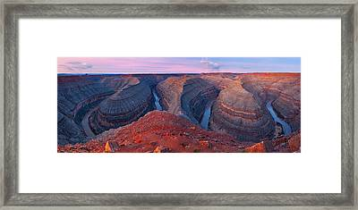 The Goosnecks Framed Print by Guy Schmickle