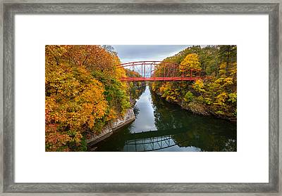 The Gorge Framed Print by Bill Wakeley