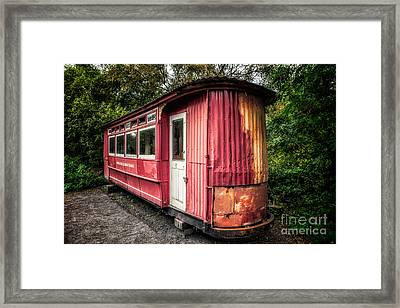 The Gospel Car Framed Print by Adrian Evans