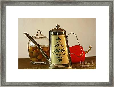 The Gourmet Kitchen Framed Print by Inspired Nature Photography Fine Art Photography
