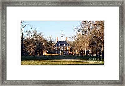 The Governor's Palace Framed Print