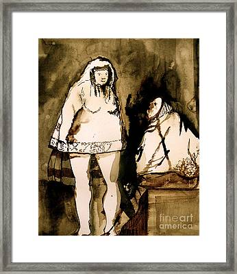 The Goya Sisters Framed Print by Jain McKay